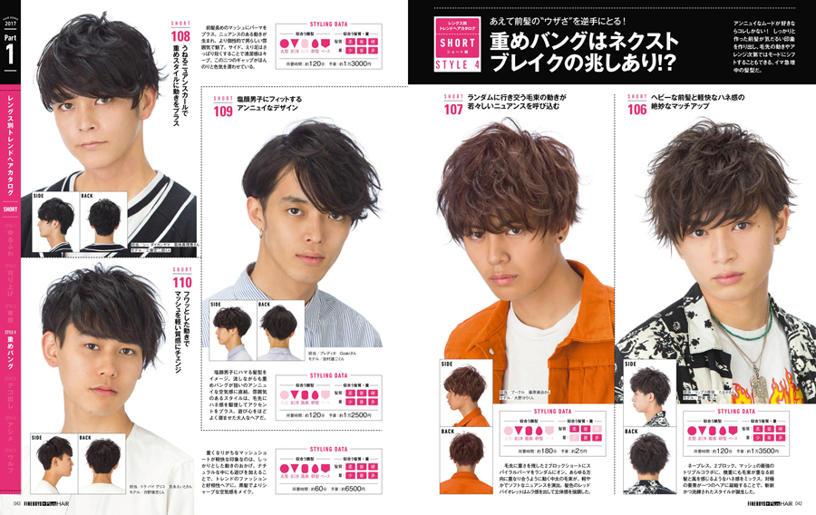 ヘアREMIX2017 おしゃれヘアカタログ保存版<br/>流行り髪SPECIAL!